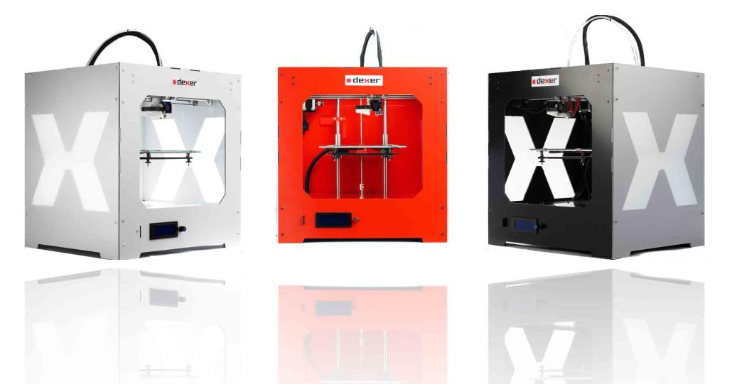 Oto nasze drukarki 3D dexer
