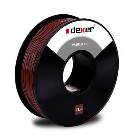 Filament 3d brązowy