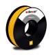 żółty filament ABS