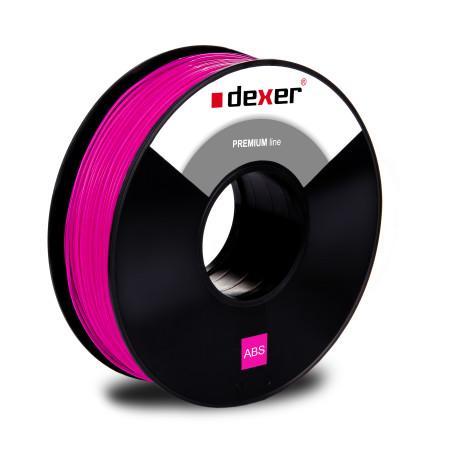 różowy abs filament