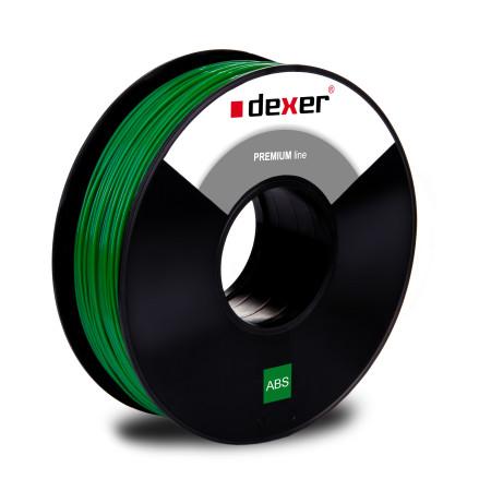 zielony filament abs