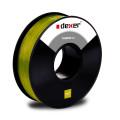 przeźroczysty żółty filament ABS