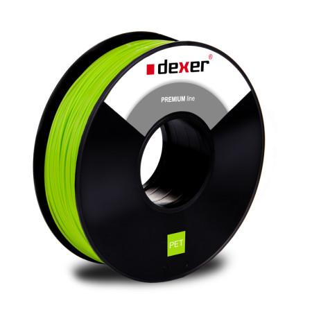 filament PET DEXER GREEN FLUO
